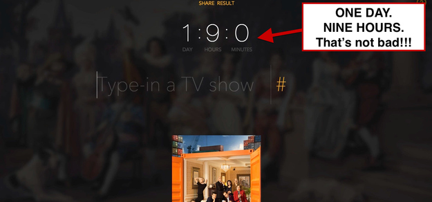 Calcola quanto tempo hai perso guardando serie TV