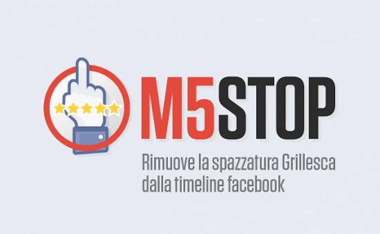 L'estensione di Chrome per rimuovere i post di Grillo da Facebook