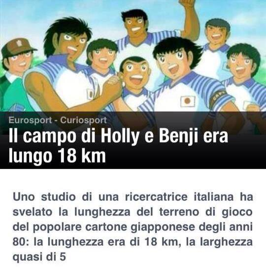 holly e Benji - campo