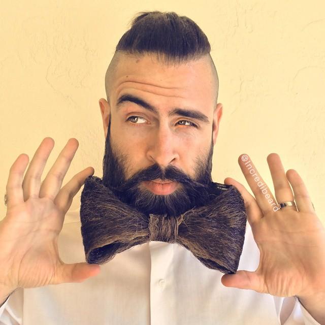 Le nuove acconciature della barba di Incredibeard
