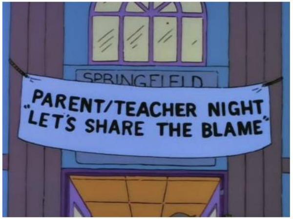 insegne dei Simpson 1