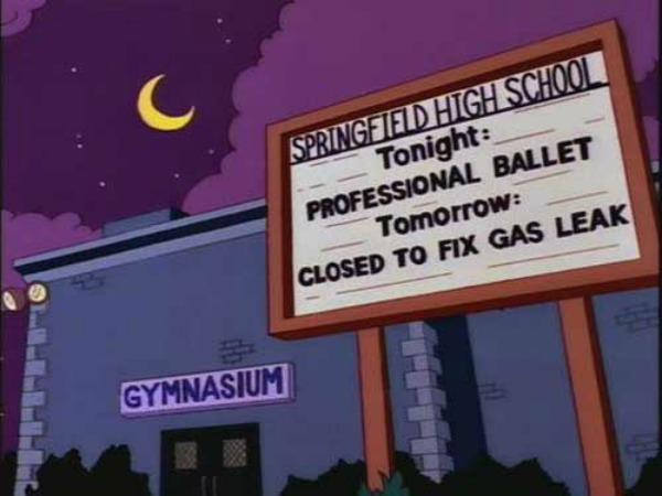 insegne dei Simpson 3